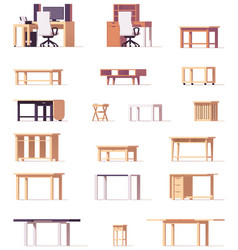 Table set vector