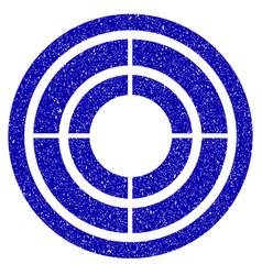 Target icon grunge watermark vector