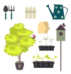 Gardening2 vector image