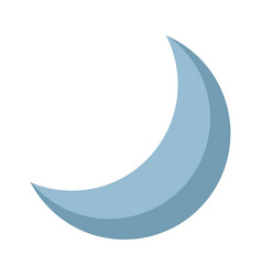 half moon night celestial natural image vector image vector image