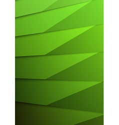 Green layer business folder mock up template vector image vector image