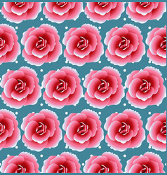 a beautiful seamless background with flowers and vector image