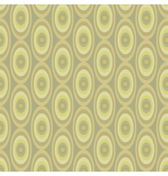 Abstract Khaki pattern from ovals vector image