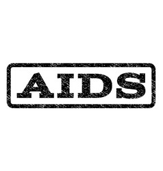 Aids watermark stamp vector