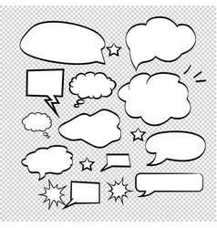 art background black bubble burst cartoon vector image
