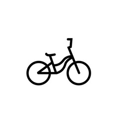 bike graphic design template isolated vector image