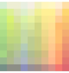 colorful pastel mosaic background vector image