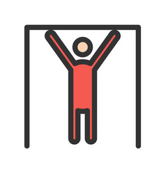 Gymnast i vector
