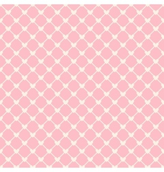 Heart shape seamless pattern tiling vector image