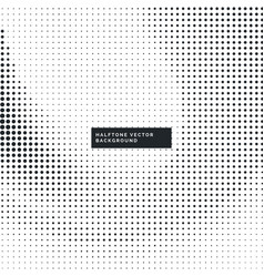 Modern halftone dots background vector