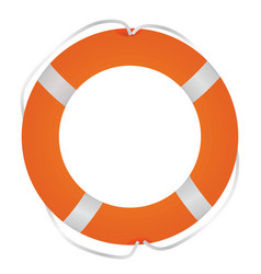 rescue ring vector image