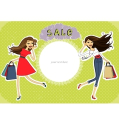 Sale advertisement invitation banner vector