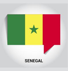 senegal flags design vector image