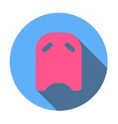 swimming board icon vector image