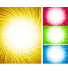 shining color background vector image