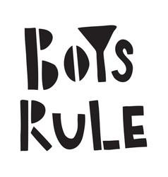 Boys rule vector