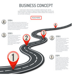 Business and progress concept vector