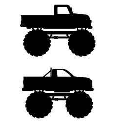 Monster truck 04 vector