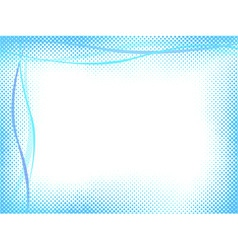 vector abstract light halftone background vector image