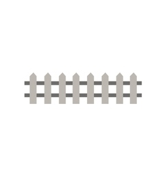 Wooden fence garden wall picket vector