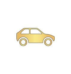 Car computer symbol vector