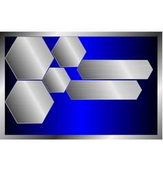 Metallic surface template background texture vector