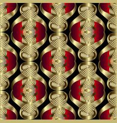 Abstract modern 3d greek seamless pattern vector