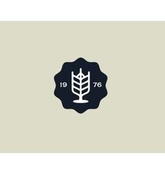 Brewery logotype Beer logo design template Pub vector