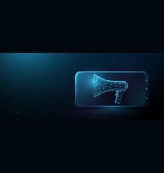 business media advertising digital marketing vector image
