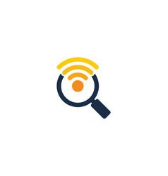 Find wifi logo icon design vector