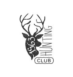 Hunting Club Vintage Emblem vector