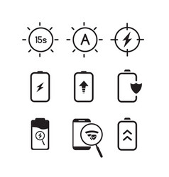 icon sets collection vector image