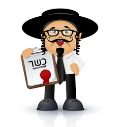 Jewish - orthodox vector