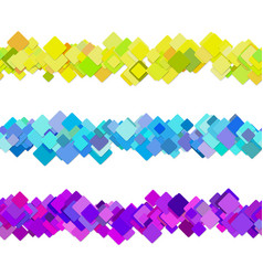 repeatable square pattern paragraph rule line vector image