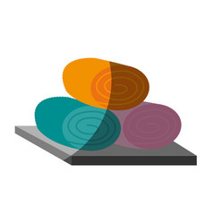 Spa center related icon image vector