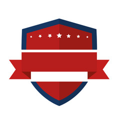 United states of america shield vector