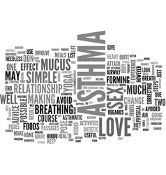 are you scared to make love because of asthma vector image