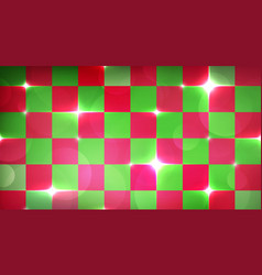 merry christmas wrapping background with red and vector image vector image
