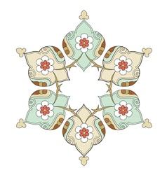 Artistic ottoman pattern series eight vector