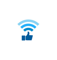 Best wifi logo icon design vector