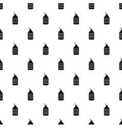 Big plastic bottle pattern simple style vector