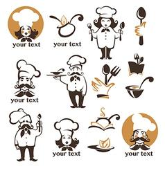 Cooking food vector