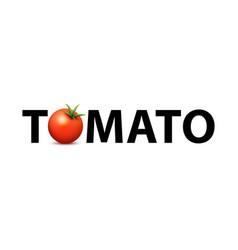 logo for market fresh organic farms vector image