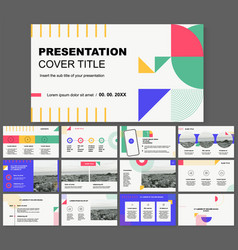 Slides for presentation you can be edited vector
