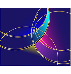 spectacular luminous abstract backgrounds logos vector image