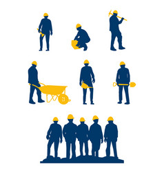 workers vector image
