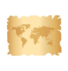 World on paper vector