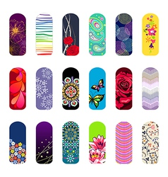 nail set vector image vector image