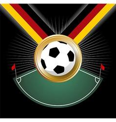 Championship medal vector image