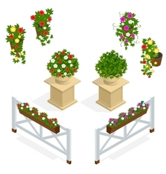 Flowers icon Design elements for the cafe vector image vector image
